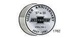 1957 Chevy Silver Anniversary Window Decal