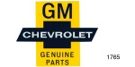 Genuine Chevrolet Parts Decal, 8''