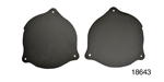 RealDuction 1957 Chevy Firewall Duct Block-Off Panels, Pair