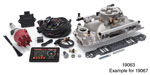 Edelbrock Chevy Pro Flo 4 EFI Kit, 550 hp, Gen III & IV LS Cathedral Port, w/ Tablet