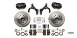 Wilwood 1955-1957 Chevy Classic Series Dynalite Front Brake Kit, 11.5'' Caliper, OE Spindles, Black Caliper