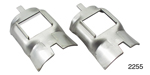 Danchuk 1955-1957 Chevy Rear Axle Bumper Retainers, Pair
