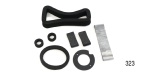 Danchuk 1955-1956 Chevy Standard Heater Seal Kit