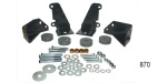 Danchuk 1955-1957 Chevy Transmission Side Mount Conversion Kit, TH350-400-700-R4