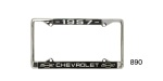 1957 Chevy Custom License Plate Frame