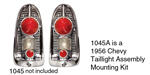 1956 Chevy Taillight Assembly Mounting Kit