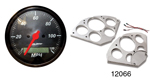 Auto Meter 1955-1956 Chevy 5 Gauge Set w/ Billet Gauge Panel, Designer Black