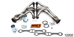 Dougs 1955-1957 Chevy Tri-Y Design Headers, Bare, Small Block