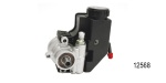 Chevy TC Type Power Steering Pump, Cast Iron w/ Reservoir