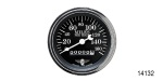 Stewart Warner Chevy Wings Series Electric Speedometer, Black, 3-3/8""