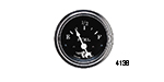 Stewart Warner Chevy Wings Series Fuel Gauge, Black 2""