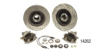 1955-1957 Chevy Front Disc Brake Conversion Kit, Stock Spindles w/ Performance Upgrades