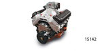 Edelbrock/Musi Chevy 555 Big Block Engine, 650hp/650 Torque, Cast Finish