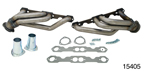 Patriot 1955-1957 Chevy Mid-Length Headers, Raw, Rack and Pinion w/Small Block