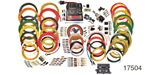 American Autowire 1955-1957  Chevy Highway Series Modular Panel Wiring System, 15 Circuit, Highway 15 Nostalgia