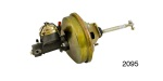 "1955-1957 Chevy Power Brake Conversion Kit, Drum/Drum, 9"" Single Diaphragm, Single Reservoir Master"