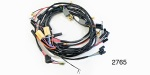 Factory Fit 1955 Chevy Under Dash Wiring Harness, Includes Headlight/Generator, w/ Internally Regulated Alternator