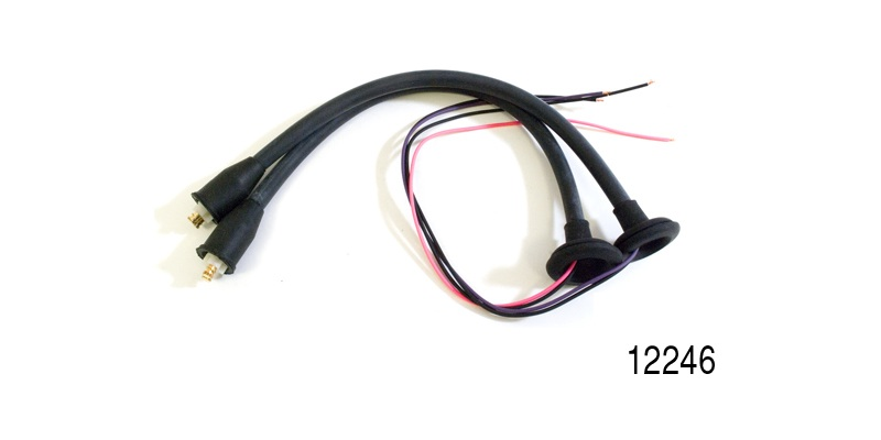 factory fit 1955 1956 chevy taillight wiring harness pigtails, pair Daewoo Wire Harness