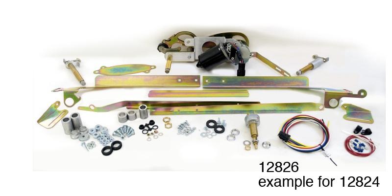 1955 1956 chevy raingear windshield wiper kit 2 speed rh danchuk com