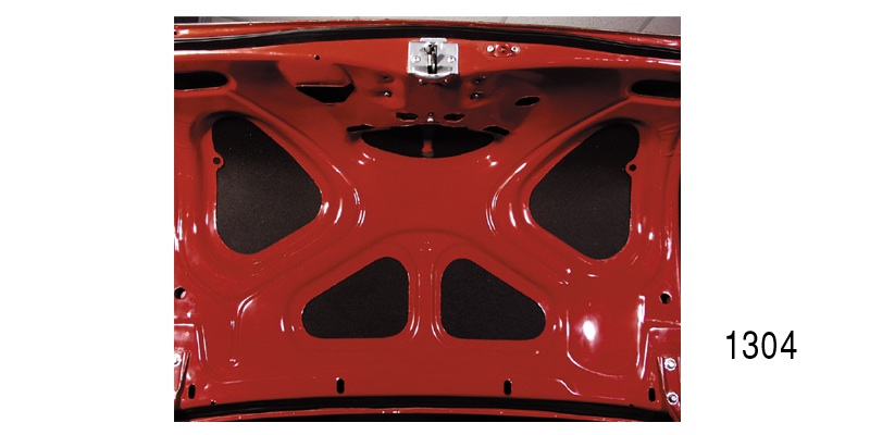 Danchuk 1955 1957 Chevy Trunk Lid Insulation Kit
