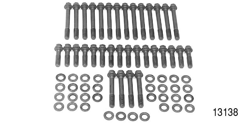 edelbrock chevy cylinder head bolt kit  small block