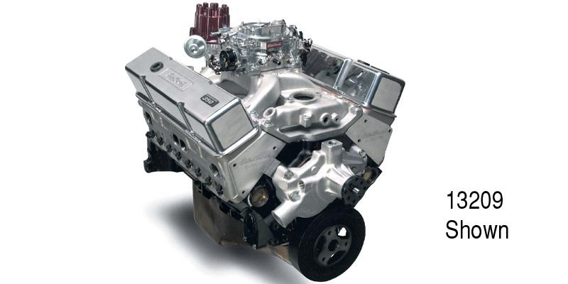 Edelbrock Chevy Performer RPM E-TEC 9 5:1 350 Engine, 435 HP/435 Torque,  Polished