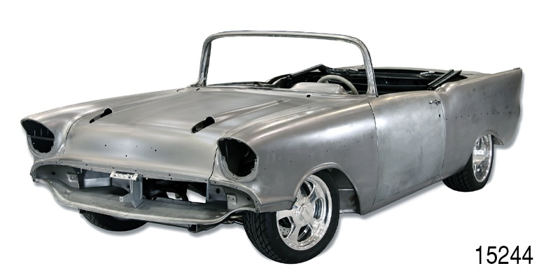 1957 Chevy Convertible Body W O Fenders