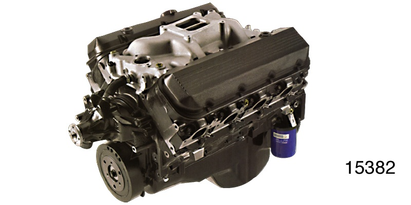 GM Performance Chevy 502 HO Off Road Crate Engine, 450 HP/550 FT. LB., Iron  Heads