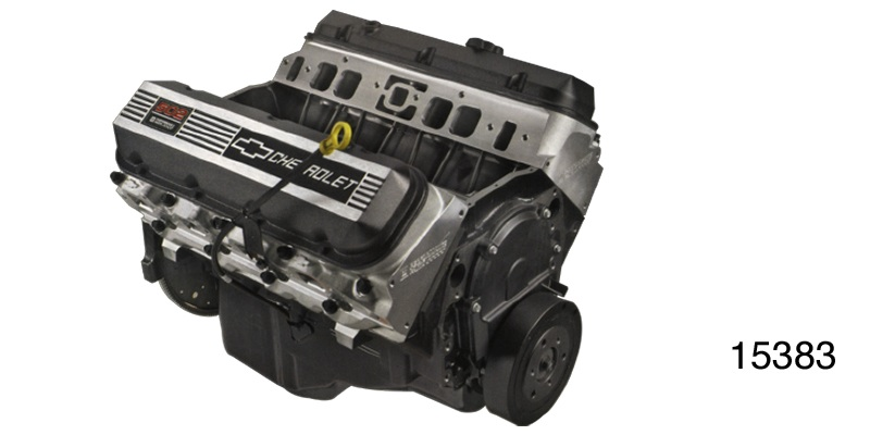 GM Performance Chevy ZZ502 HO Off Road Crate Engine, 502 HP/567 FT  LB ,  Aluminum Heads