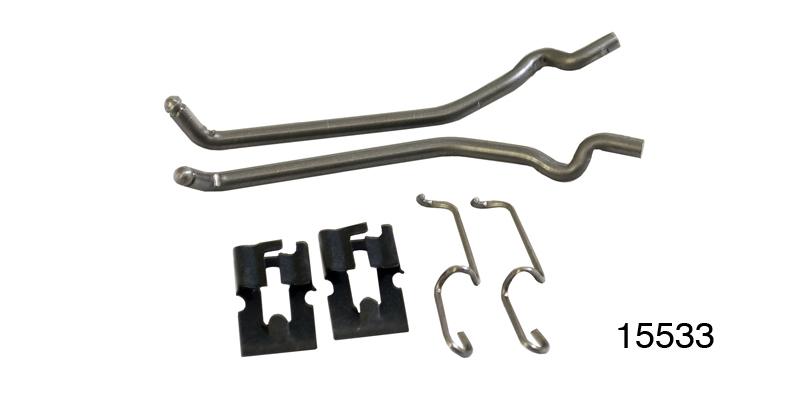 56 Chevy Door Lock To Latch Rods Hardtop /& Convertible