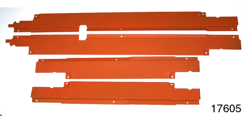 1955 1957 chevy wire harness door sill covers 4 door sedan wagon rh danchuk com 1955 chevrolet truck wiring harness