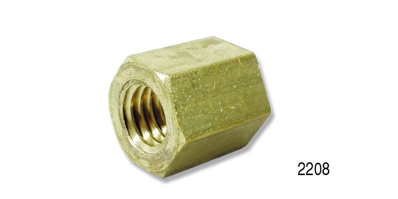 1955-1957 Chevy Brass Exhaust Manifold Nut