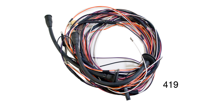 [SCHEMATICS_43NM]  Factory Fit 1955 Chevy Taillight Wiring Harness, 2-Door Hardtop | 1955 Chevy Tail Light Wiring Harness |  | Danchuk