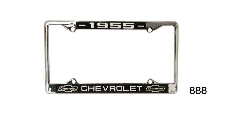 1955 Chevy Custom License Plate Frame
