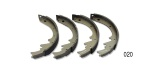 1951-1958 Chevy Brake Shoes, Rear, Axle Set