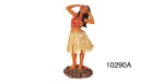 Chevy Hula Girl Doll with Hands Back