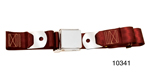 1955-1957 Chevy Driver Quality Front Seat Belt Set, Maroon