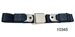 1955-1957 Chevy Driver Quality Rear Seat Belt Set, Dark Blue
