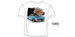 Chevy ''Heaven is a Hot 1957'' Tee Shirt, White, Large
