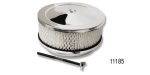 Chevy Chrome Air Cleaner w/ Stud and Wing Nut, 6-3/4''