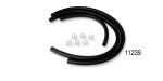 1957 Chevy Original Style Heater Hose Kits with Ribs, V8