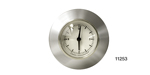 1955-1956 Chevy Clock with Polished Aluminum Adapter Bezel, White