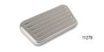 Lokar 1955-1957 Chevy Billet Power Brake Pedal Pad, Brushed and Ball Milled