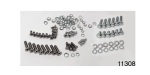 1955-1957 Chevy Rear Tailgate/Door Bolt and Screw Kit, Sedan Delivery