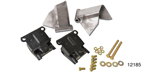 1955-1957 Chevy Motor Mount Kit, Rubber Mounts w/ Hardware, Stock Position