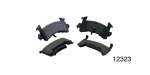 1955-1957 Chevy Organic Front Disc Brake Pads