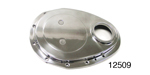 Chevy Polished Billet Timing Chain Cover, Small Block