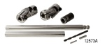 Unisteer 1955-1957 Chevy Rack and Pinion Power Steering Column U-Joint Kit, Ididit Column w/ Spline Shaft