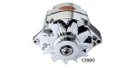 Powermaster Chevy Alternator, 100 Amp, Chrome, 12-Volt
