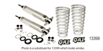 QA1 1955-1957 Chevy Proma Star Coil Over Shock Conversions, Single Adjustment, BB/450 lb rate